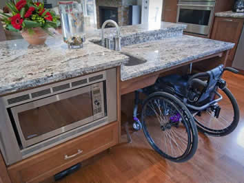Accessible Kitchen Modifications